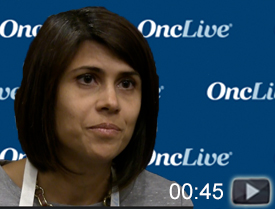 Dr. Karmali on the Impact of CAR T-Cell Therapy in DLBCL
