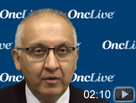 Dr. Mirza on the Rationale for the AVANOVA Trial in Recurrent Ovarian Cancer