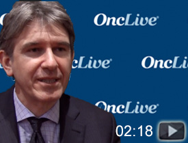 Dr. Perales on Treatment With Approved CAR T-Cell Therapy