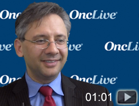Dr. Pishvaian on the Future of Entrectinib in Pancreatic Cancer