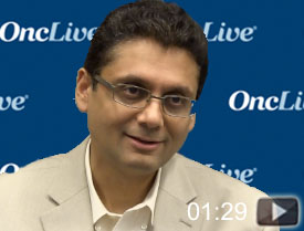 Dr. Shah Highlights Immunotherapy for Esophageal Cancer