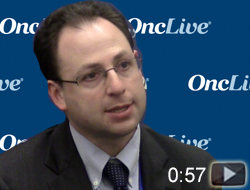 Dr. Schoenfeld on Preventing Immune Suppression With Radiation and Immunotherapy Combos