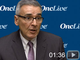 Dr. Sparano on Application of Liquid Biopsies in Breast Cancer