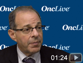Dr. Sznol on Patient Selection for Combination Therapy in mRCC