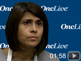 Dr. Karmali Discusses Toxicites Associated With CAR T-Cell Therapies