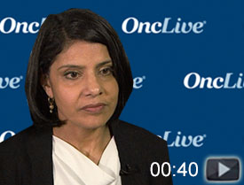 Dr. Gandhi Discusses the Role of Alectinib in ALK+ Lung Cancer