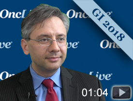 Dr. Pishvaian Discusses Results of Entrectinib in Metastatic Pancreas Cancer